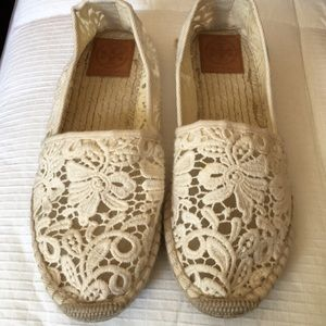 Tory Burch Lace Espadrille